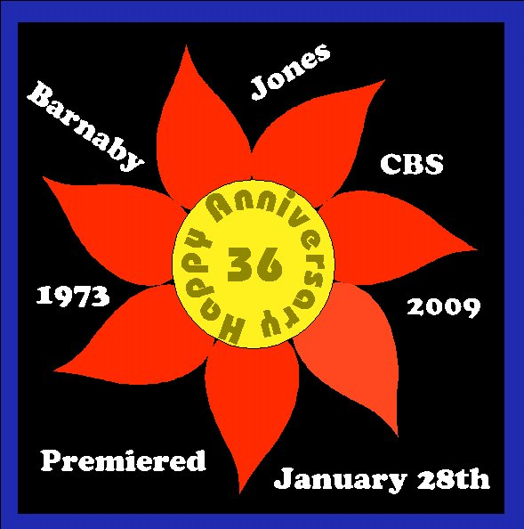 Barnaby Jones 36th Anniversary